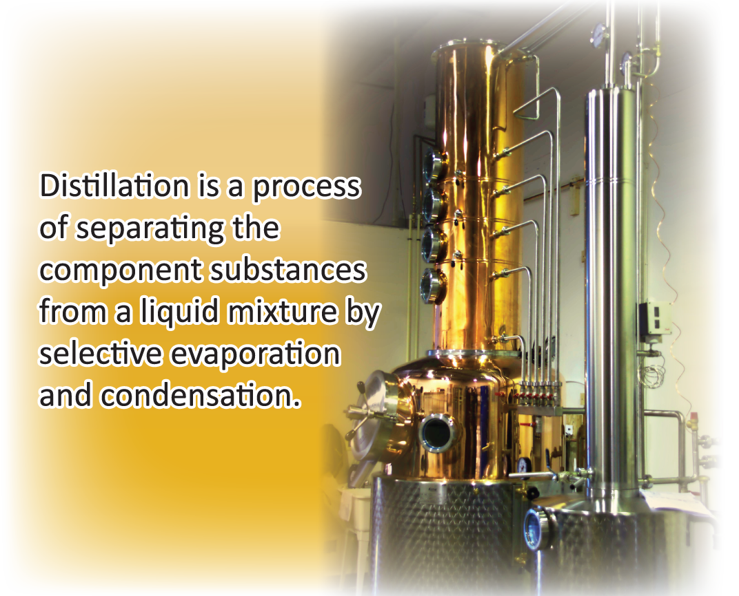 Alcohol Distillation Process